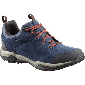 Columbia Fire Venture Low Waterproof Shoes Damen zinc/red canyon